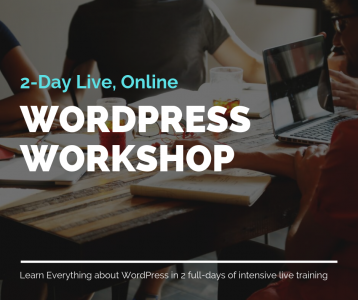 2-Day Live WP Workshop